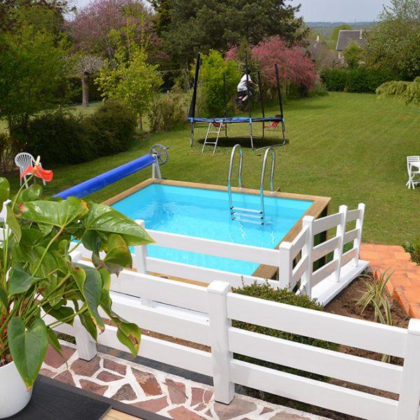 piscine hors sol pour la sécurité des enfants